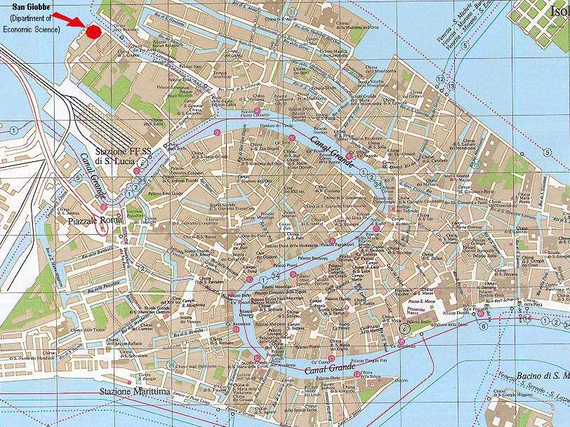 Map Of Venice Italy - Map Of Venice
